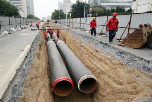 城区热网管道